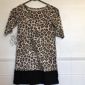 Girls cheetah dress